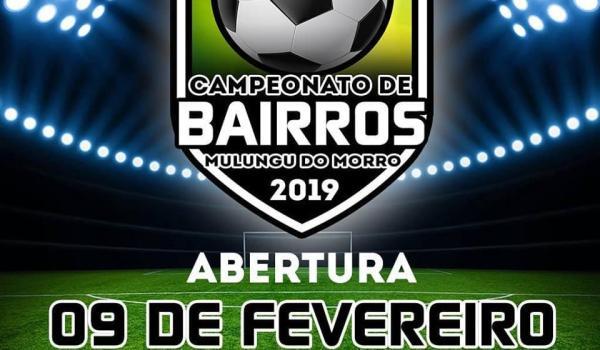 Imagens da Campeonato de Bairros 2019