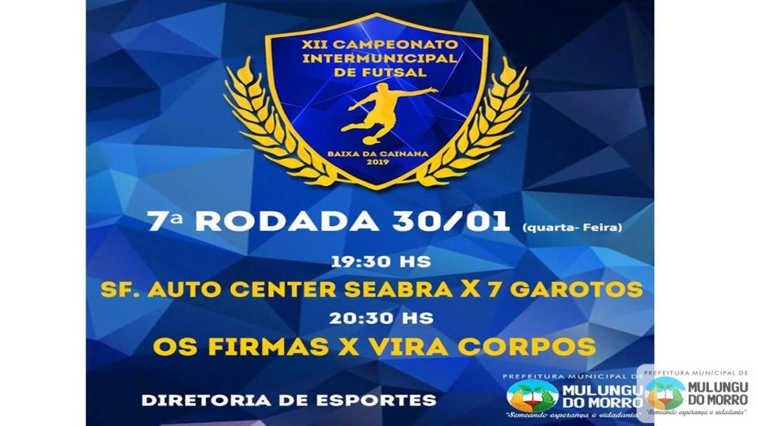 Campeonato Intermunicipal de Baixa da Cainana 2019