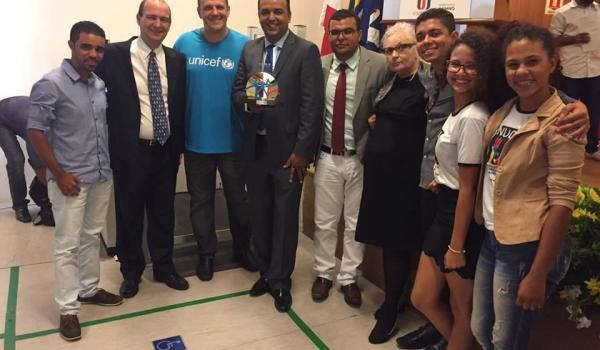 CERIMÔNIA OFICIAL DA ENTREGA DO SELO UNICEF - MULUNGU DO MORRO: MUNICÍPIO APROVADO 2013-2016.