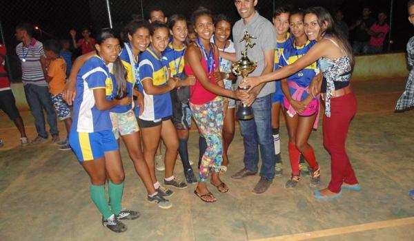 Final do Campeonato de Futsal Feminino de Lagoa Nova