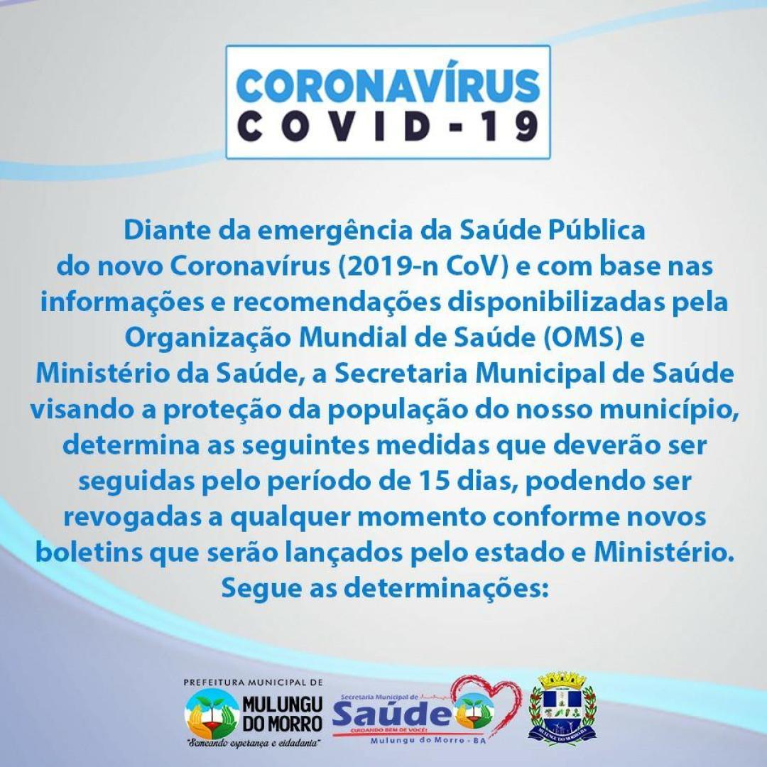 Medidas de Proteção contra o Novo Coronavírus (Covid-19)