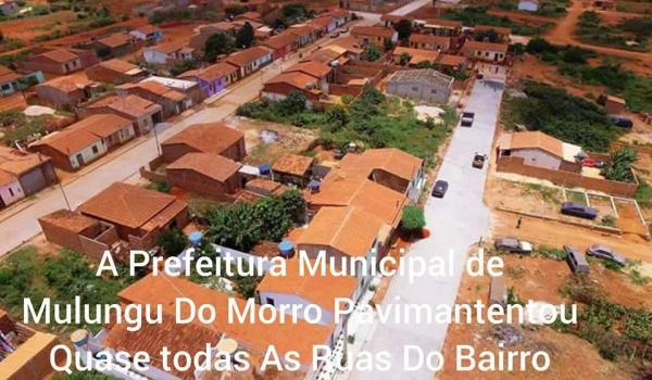 Pavimentação no Bairro da Portelinha