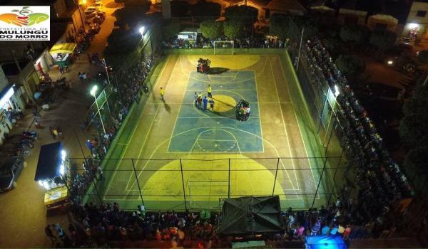 PROMOVENDO O ESPORTE - Grande Final do Campeonato Regional de Futsal do Povoado de Baixa da Cainana.