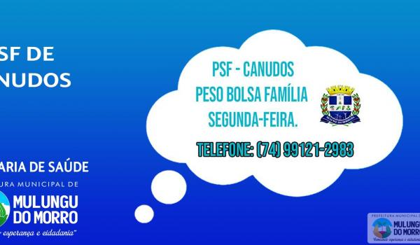 PSF CANUDOS