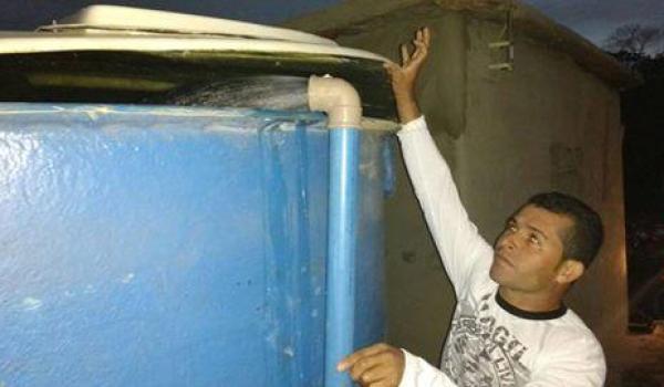 Testes iniciais do sistema de abastecimento de água de Sapecado e Gitirana