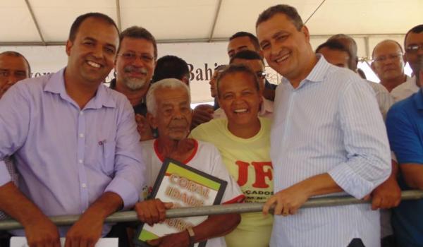 Imagens da Visita do Exmo. Governador Rui Costa